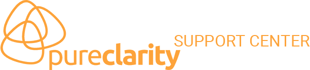 PureClarity Support Center Logo