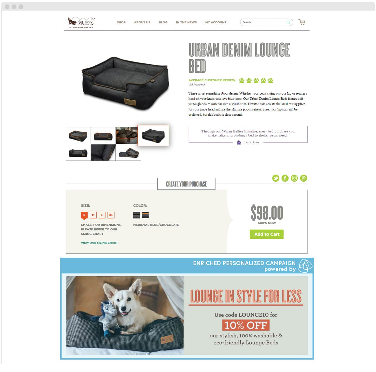 PetPlay A/B Content Campaigns