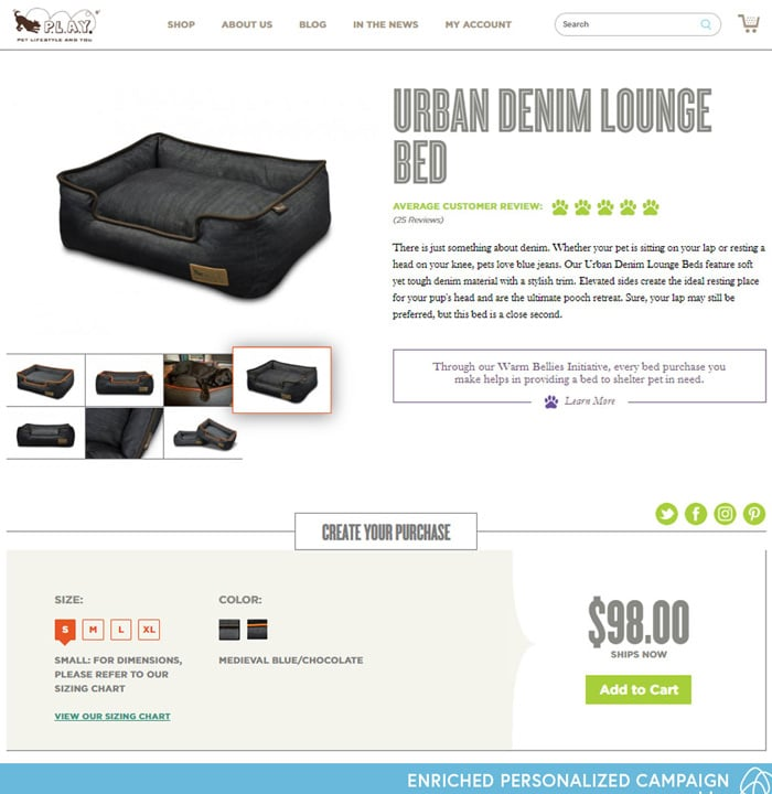 P.L.A.Y. Product Page