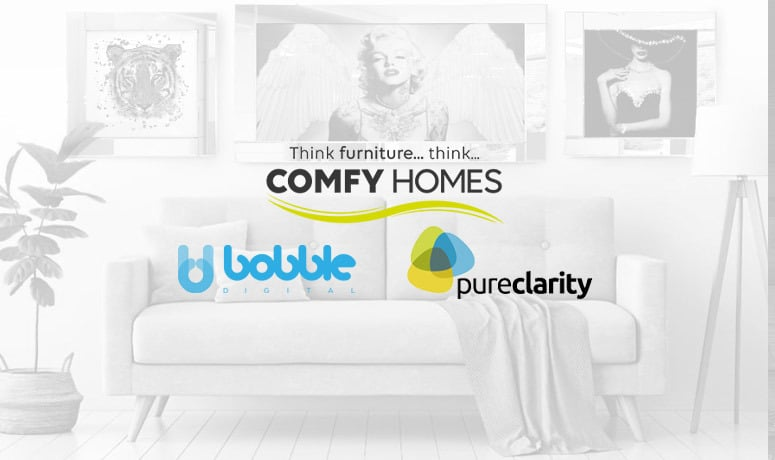 Comfy Homes, Bobble Digital and PureClarity Case Study